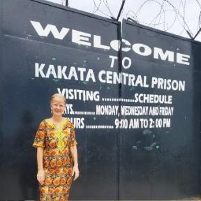 Bible Study at Kakata City Prison